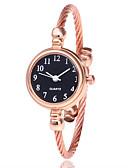cheap Quartz Watches-Women's Bracelet Watch Wrist Watch Quartz Casual Watch Alloy Band Analog Fashion Minimalist Black / Silver / Gold - Silvery / White Gold / White Black / Silver
