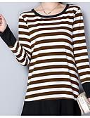 tanie T-shirt-T-shirt Damskie Bawełna Solidne kolory