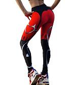 abordables Leggings para Mujer-Mujer Diario Deportivo Legging - Geométrico Alta cintura