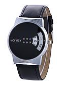 cheap Fashion Watches-Women's Fashion Watch Unique Creative Watch Quartz Creative Leather Band Digital Casual Black / White - White Black One Year Battery Life / Tianqiu 377