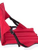 זול טישרט-כיסא נשיאה לקמפינג / כיסא קמפינג מתקפל חיצוני משקל קל, ייבוש מהיר, קיפול ל דיג / חוף / קמפינג - 1 אדם שחור / פוקסיה