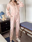 ieftine Costum Damă Două Bucăți-Pentru femei Activ Set - Scrisă, Pantaloni