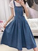 cheap Women's Dresses-Women's Set - Solid Colored Dress