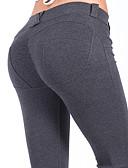 tanie Print Dresses-Taniec latynoamerykański Legginsy i getry Damskie Szkolenie / Spektakl Elastyczny / Szarmeza Materiały łączone Natutalne Spodnie