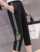 tanie Getry-Damskie Podstawowy Spodnie dresowe Spodnie Solidne kolory / Lato