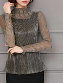 ieftine Tricou-Pentru femei Stil Nautic Cămașă Ieșire Mată / Zvelt