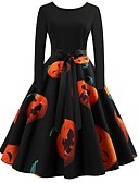 cheap Women's Dresses-Women's Street chic / Elegant Sheath Dress - Floral Print