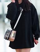 ieftine Pălării Femei-Pentru femei De Bază Pantaloni - Scrisă Negru / Lung