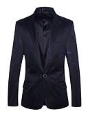 ieftine Blazer & Costume de Bărbați-Bărbați Blazer De Bază Mată