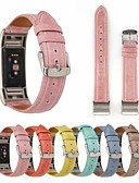 cheap Smartwatch Bands-Watch Band for Fitbit Charge 2 Fitbit Leather Loop Genuine Leather Wrist Strap