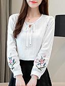 preiswerte Kleider in Übergröße-Damen Blumen T-shirt