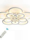 お買い得  メンズ・ベルト-UMEI™ 幾何学模様 / アイデアジュェリー 埋込式 アンビエントライト 塗装仕上げ メタル アクリル クリスタル, クリエイティブ, 新デザイン 110-120V / 220-240V Warm White / White / リモコンで調光可能 LED光源を含む / 集積LED / FCC