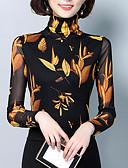 povoljno Bluza-Majica s rukavima Žene - Osnovni Dnevno Geometrijski oblici Kolaž / Print