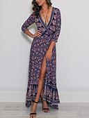 povoljno Ženske haljine-Žene Korice Haljina Color block Maxi