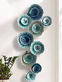 billige Junior brudepikekjoler-Landskap Veggdekor Metall Parfymert Veggkunst, Veggkunst i metall Dekorasjon