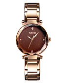 cheap Quartz Watches-SKMEI Women's Dress Watch Wrist Watch Japanese Quartz Black / Blue / Purple 30 m Water Resistant / Water Proof Casual Watch Cool Analog Ladies Casual Fashion - Coffee Blue Rose Gold One Year Battery