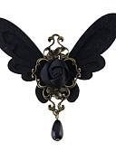 ieftine Tricou-Pentru femei Turmalină sintetică Stl Broșe - Fluture, Norocos Stilat, De Bază Broșă Negru Pentru Cadou / Zilnic