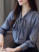 ieftine Bluză-Pentru femei Cămașă De Bază - Mată
