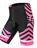 ieftine Leggings-WOSAWE Pentru femei Pantaloni Scurți cu Burete Bicicletă Pantaloni scurți / Pantaloni Impermeabil, Respirabil, Κατά του ιδρώτα Clasic