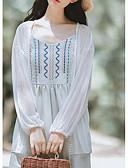 tanie T-shirt-Bluzka Damskie Podstawowy Solidne kolory