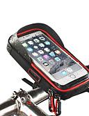 billige Triatlontøj-Telefonstativ til cykel Vandtæt, Bærbar, Påførelig Cykling / Cykel / Mountain Bike / Vejcykel Vandtæt materiale Sort / Rød / Blå - 1 pcs