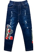 זול חולצות לגברים-בנים בסיסי מכנסיים - דפוס פול