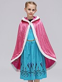 お買い得  女児ジャケット&コート-子供 女の子 ヴィンテージ / ベーシック 日常 / 祝日 ソリッド ノースリーブ ポリエステル トレンチコート ブルー