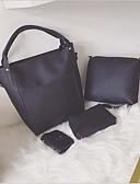 cheap Women's Trench Coats-Women's Bags PU(Polyurethane) Bag Set 4 Pieces Purse Set Zipper Dark Gray / Brown / Light Grey
