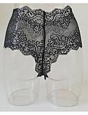 abordables Panties-Mujer C-String Un Color Media cintura