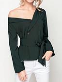 billige Bodysuit-Dame - Ensfarvet Blondér Basale Skjorte