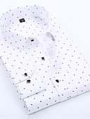 cheap Evening Dresses-men's plus size shirt - graphic classic collar