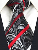 cheap Men's Ties & Bow Ties-Men's Work / Basic Necktie - Striped / Paisley / Jacquard