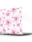 """お買い得  MacBook 用アクセサリー-MacBook ケース フラワー PVC のために MacBook Pro 13インチ / MacBook Pro Retinaディスプレイ15インチ / New MacBook Air 13"""" 2018"""