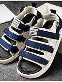 abordables Sostenes-Hombre Zapatos Confort Vaquero Verano Sandalias Negro / Verde Ejército / Azul