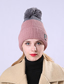 cheap Women's Hats-Women's Basic / Holiday Floppy Hat - Color Block Pleated