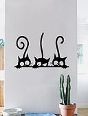 halpa Puhelimen kuoret-Koriste-seinätarrat - Animal Wall Tarrat Eläimet Ruokailuhuone / Kids Room