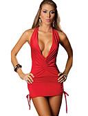 رخيصةأون ملابس داخلية وجوارب للرجال-زي موحد أزياء Cosplay زي مثير عطلة / عيد ملابس أحمر