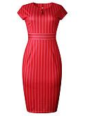 ieftine Rochii de Damă-Pentru femei De Bază Zvelt Pantaloni Roșu-aprins / În V