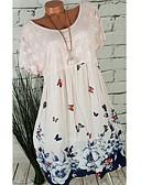 abordables Batas y ropa de dormir-Mujer Básico Línea A Vestido - Encaje Floral Sobre la rodilla