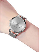 cheap Print Dresses-Women's Ladies Wrist Watch Quartz Stainless Steel Black / Silver / Gold 30 m Water Resistant / Waterproof New Design Analog Casual Fashion - Black Silver Rose Gold