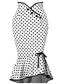 ieftine Pantaloni de Damă-Pentru femei Sirenă De Bază Fuste - Mată / Buline