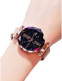 Недорогие Модные часы-Жен. Наручные часы Кварцевый Черный / Синий / Фиолетовый 30 m Защита от влаги Творчество Аналоговый Дамы На каждый день Мода - Лиловый Синий Розовое золото