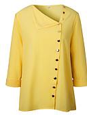 billige Sykkeljerseys-Skjortekrage Skjorte Dame - Ensfarget Ut på byen