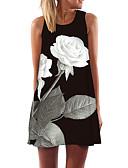 זול שמלות נשים-מעל הברך שמלה ישרה בסיסי בגדי ריקוד נשים