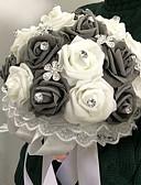 """Недорогие Свадебные цветы-Свадебные цветы Букеты Свадьба пена 8,66""""(около 22см)"""