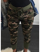 abordables Pantalones para Mujer-Mujer Militar Chinos Pantalones - camuflaje