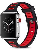 זול להקות Smartwatch-צפו בנד ל סדרת Apple Watch 5/4/3/2/1 / Apple Watch Series 4 Apple אבזם קלאסי סיליקוןריצה רצועת יד לספורט