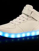 זול חליפות לנושאי הטבעת-בנים / בנות נעליים זוהרות PU נעלי ספורט פעוט (9m-4ys) / ילדים קטנים (4-7) / ילדים גדולים (7 שנים +) הליכה LED אדום / כחול / ורוד בהיר אביב / סתיו / גומי