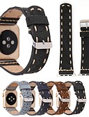 Недорогие Smartwatch Bands-ремешок из натуральной кожи для часов Apple серии 4/3/2/1 классический ремешок с пряжкой iwatch