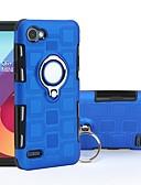 tanie Etui na telefony-Kılıf Na LG LG Q7 / Q6 Odporny na wstrząsy / Uchwyt pierścieniowy Osłona tylna Zbroja Twardość PC na LG Q7 / LG Q6